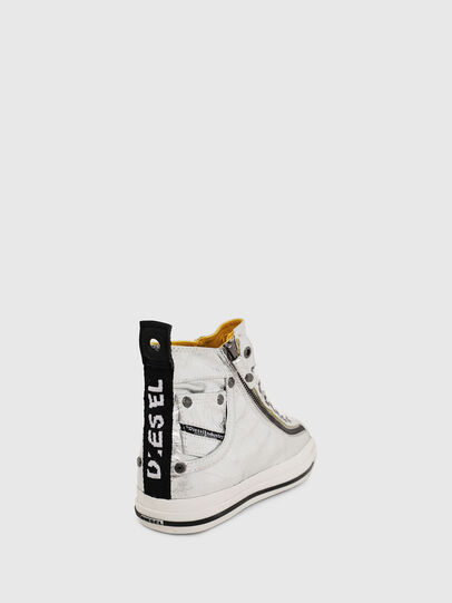 Diesel - EXPO-ZIP W, Argento - Sneakers - Image 4