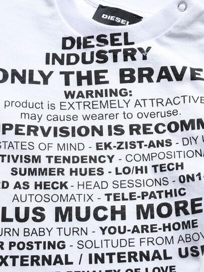 Diesel - TDIEGOS3B, Bianco - T-shirts e Tops - Image 3