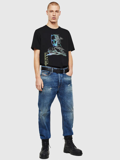Diesel - D-Macs 0097I, Blu medio - Jeans - Image 7