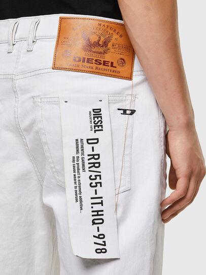 Diesel - D-Vider 003AF, Bianco - Jeans - Image 4