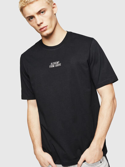 Diesel - T-JUST-A8, Nero - T-Shirts - Image 1