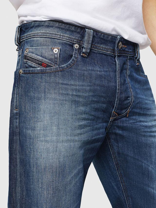 Diesel - Larkee C89AR, Blu Scuro - Jeans - Image 5