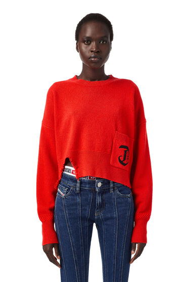 Pullover Green Label cropped