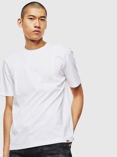 Diesel - T-TOMI, Bianco - T-Shirts - Image 1