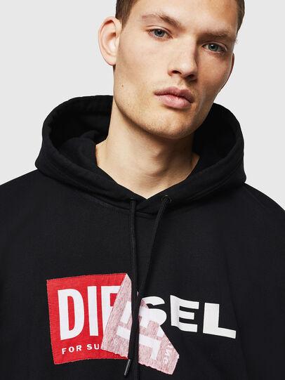 Diesel - S-ALBY, Nero - Felpe - Image 3