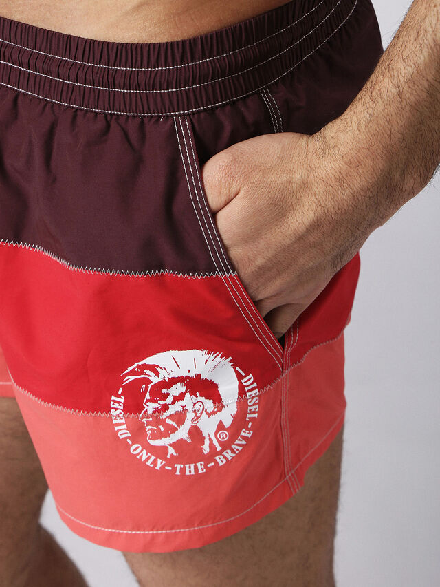 Diesel - BMBX-CAYBAY SHORT, Rosso - Boxer - Image 3