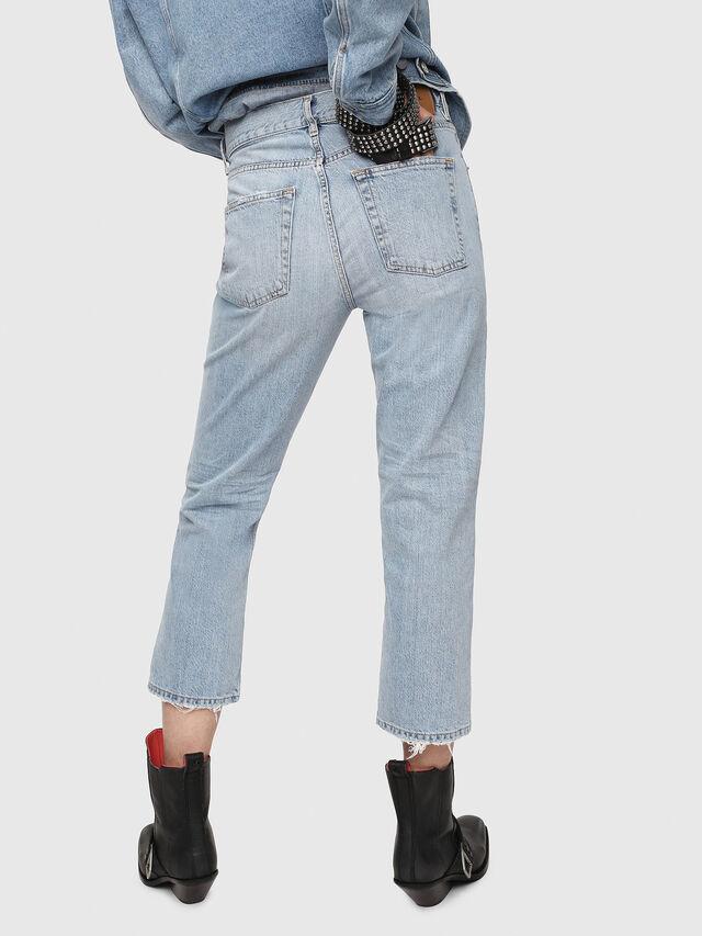 Diesel - Aryel 080AF, Blu Chiaro - Jeans - Image 2