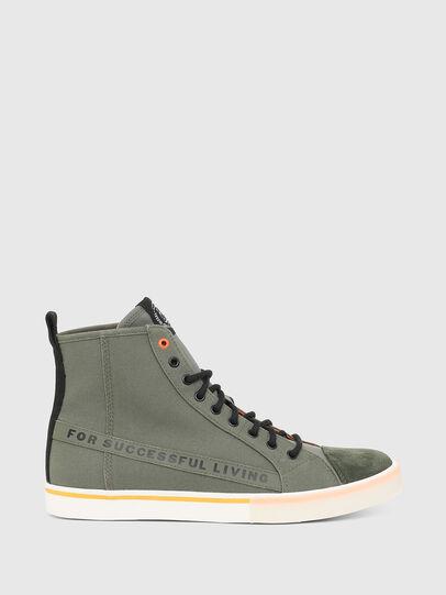 Diesel - S-DVELOWS ML, Verde Militare - Sneakers - Image 1