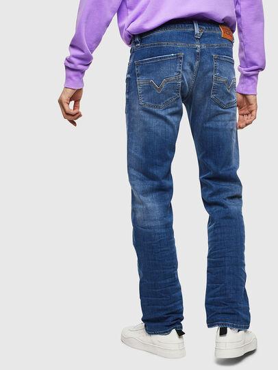 Diesel - Larkee 0097X, Blu medio - Jeans - Image 2