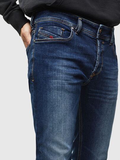 Diesel - Sleenker 086AJ, Blu medio - Jeans - Image 3