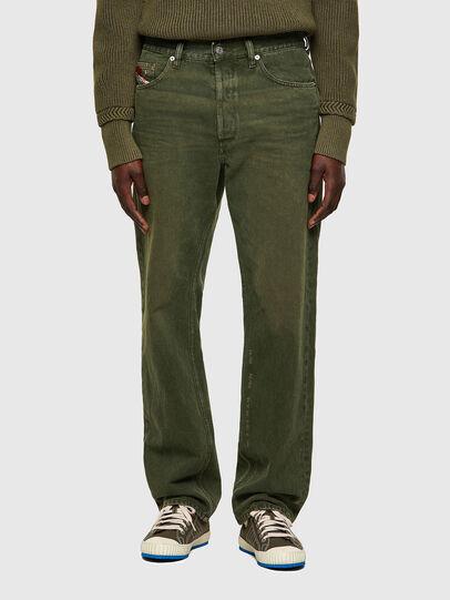 Diesel - D-Macs 09A35, Verde - Jeans - Image 1