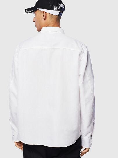 Diesel - D-FLOX, Bianco - Camicie in Denim - Image 2