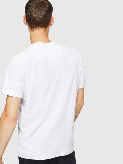Diesel - T-TARRIS, Bianco - T-Shirts - Image 2