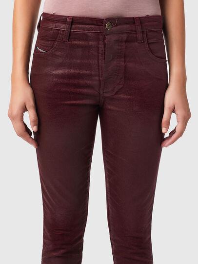 Diesel - Babhila 069XI, Rosso - Jeans - Image 3