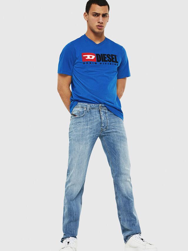 Diesel - Larkee 081AL, Blu Chiaro - Jeans - Image 4
