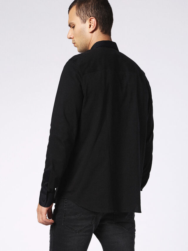 DVL-SHIRT-MALE-RE, Nero