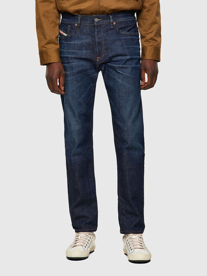 Diesel - D-Fining 09A48, Blu Scuro - Jeans - Image 1