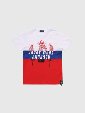 TJUSTA1, Bianco/Rosso/Blu - T-shirts e Tops