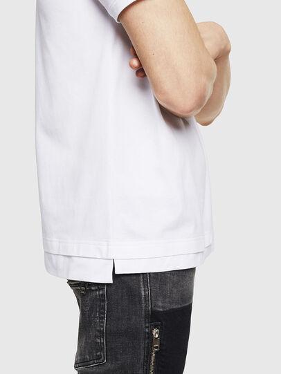 Diesel - T-CHERUBIK-NEW, Bianco - T-Shirts - Image 4