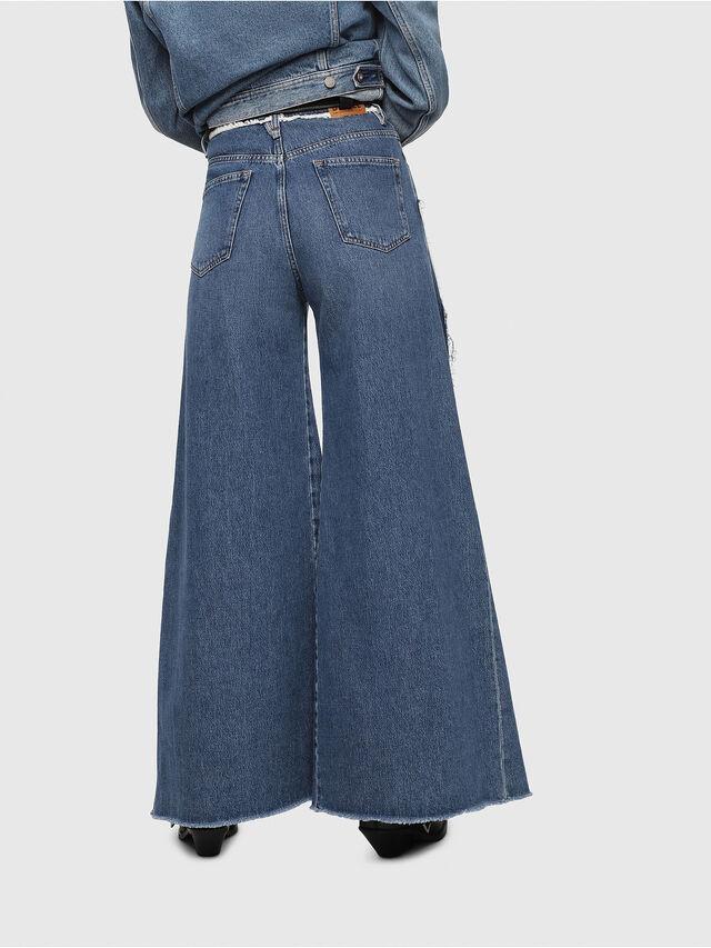 Diesel - D-Izzier 080AN, Blu medio - Jeans - Image 2