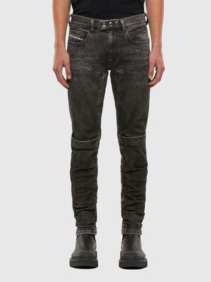 D-Dean 009LI, Nero/Grigio scuro - Jeans