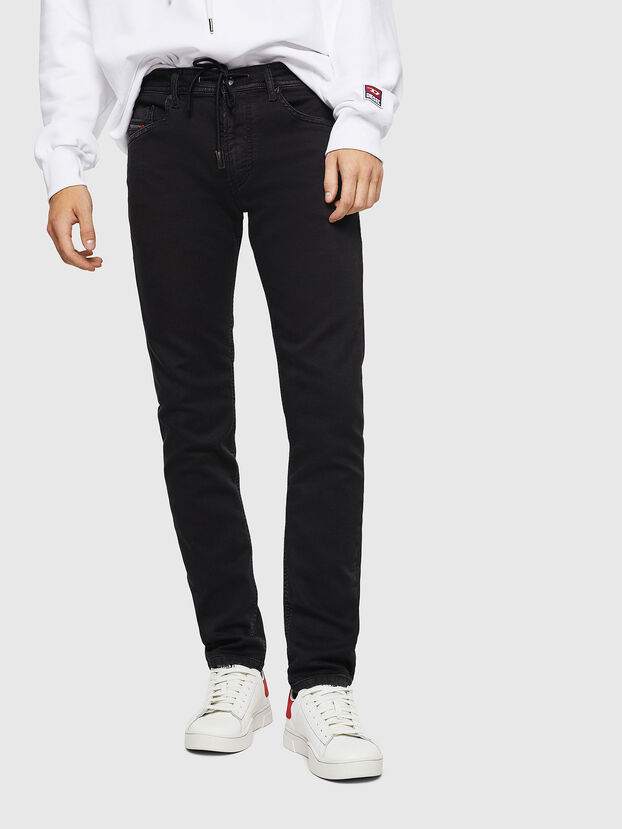 Thommer JoggJeans 0687Z, Nero/Grigio scuro - Jeans