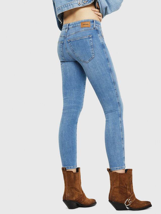 Diesel - Babhila 086AK, Blu Chiaro - Jeans - Image 2