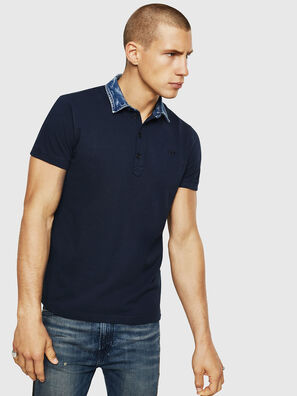T-MILES-NEW, Blu Scuro - Polo