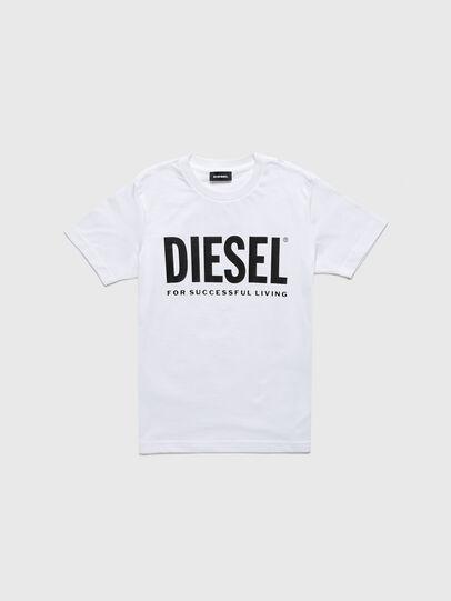 Diesel - TJUSTLOGOB-R, Bianco - T-shirts e Tops - Image 1