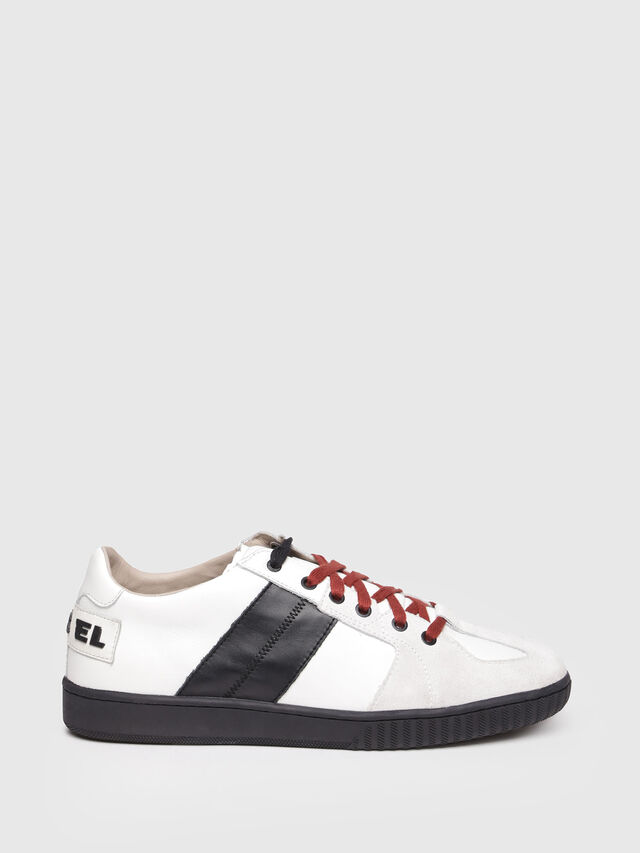 Diesel - S-MILLENIUM LC, Bianco/Nero - Sneakers - Image 1