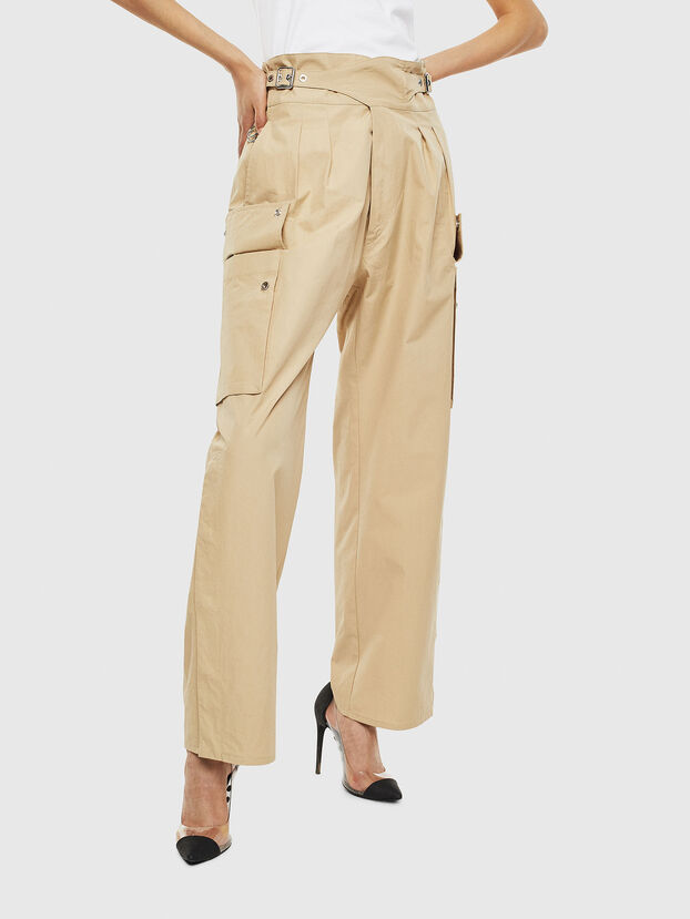 P-MARIE, Beige - Pantaloni