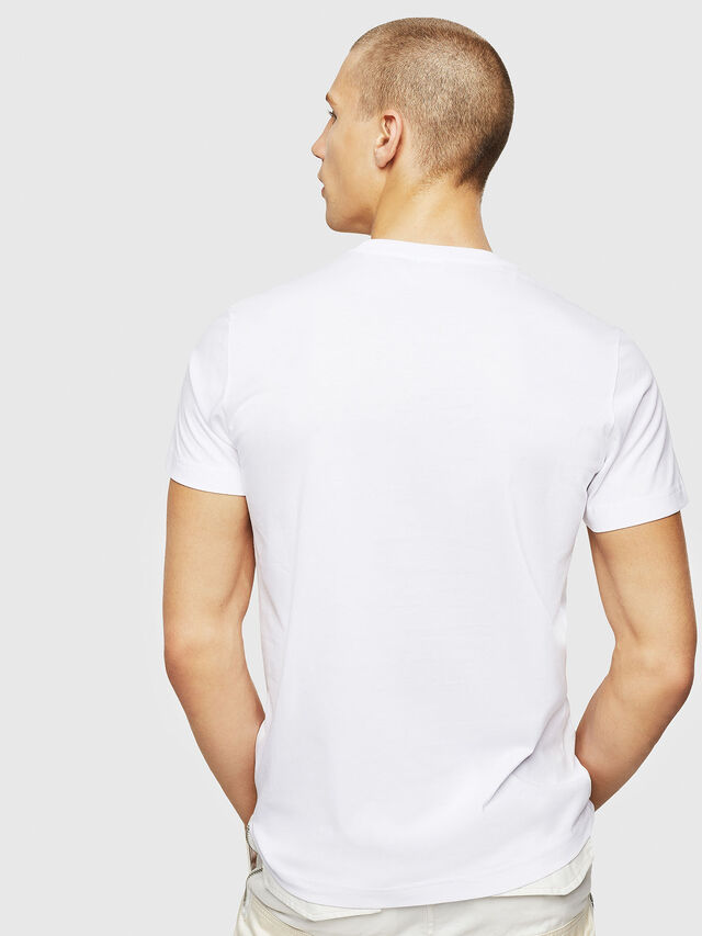 Diesel - T-DIEGO-A1, Bianco - T-Shirts - Image 2