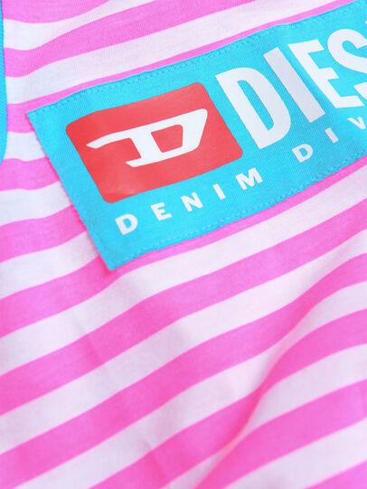 Diesel - DARIETTAB, Rosa/Bianco - Vestiti - Image 3