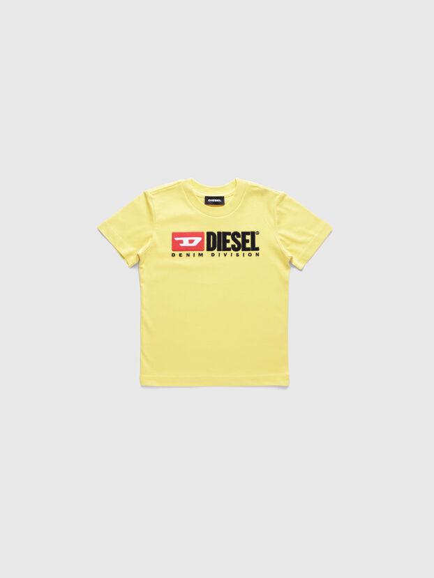 TJUSTDIVISIONB-R, Giallo - T-shirts e Tops