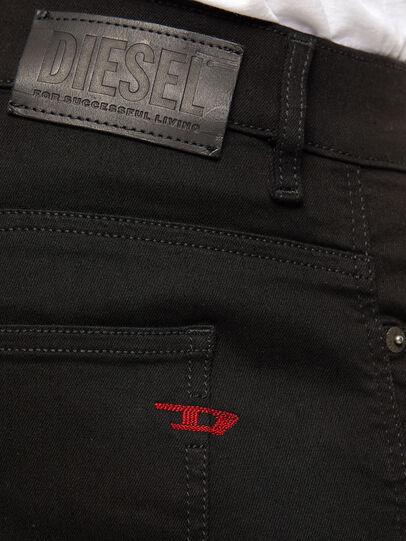Diesel - D-Istort 069EF, Nero/Grigio scuro - Jeans - Image 4