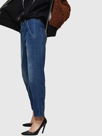 Diesel - D-Rollar JoggJeans 069IT, Blu medio - Jeans - Image 4