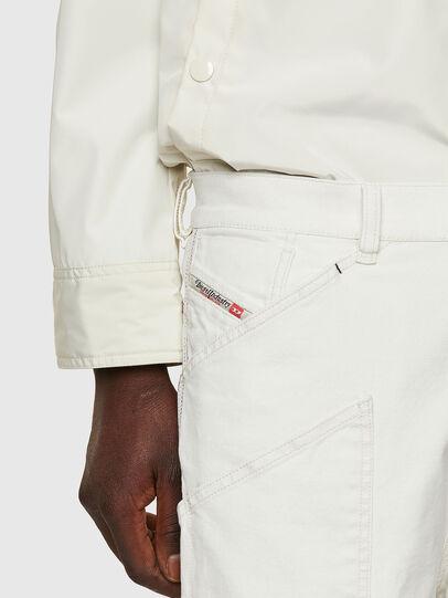 Diesel - D-Franky 009ZJ, Bianco - Jeans - Image 5