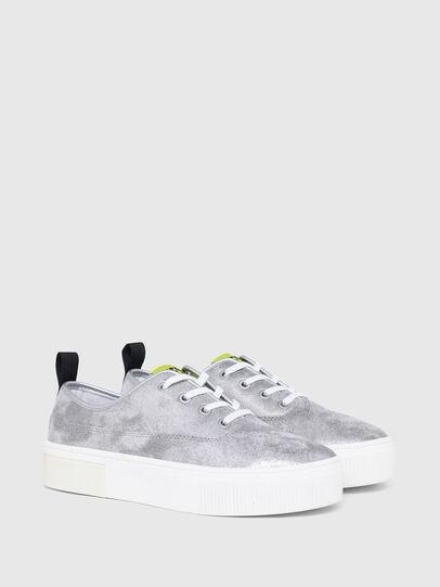 Diesel - S-VANEELA LC, Argento - Sneakers - Image 2