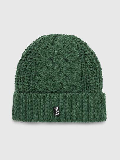 Diesel - K-KONEX, Verde Scuro - Cappelli invernali - Image 2