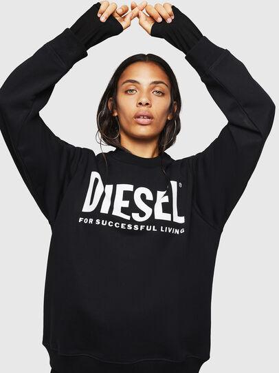 Diesel - F-ANG, Nero - Felpe - Image 1