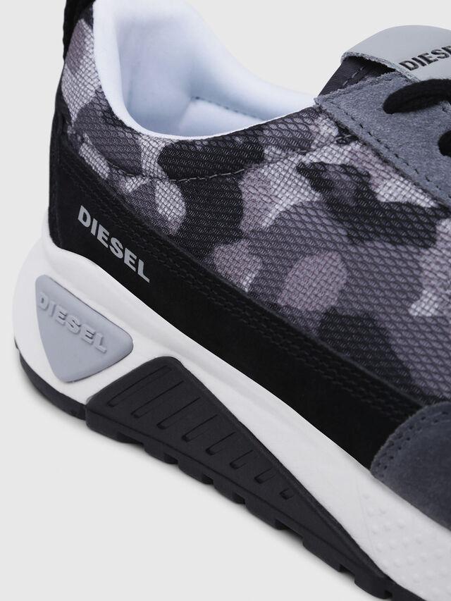 Diesel - S-KB LOW LACE, Grigio/Nero - Sneakers - Image 5