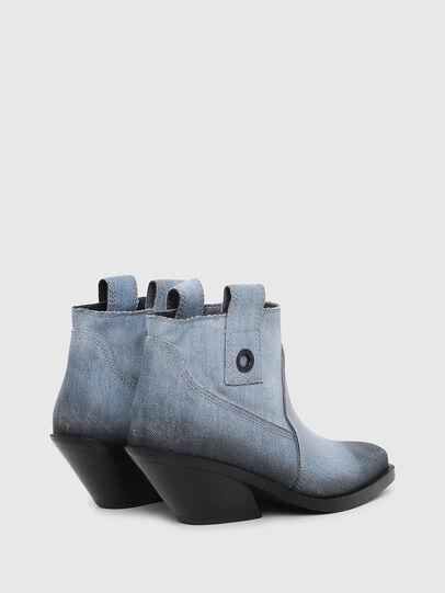 Diesel - D-GIUDECCA MAB, Blu Jeans - Stivaletti - Image 3