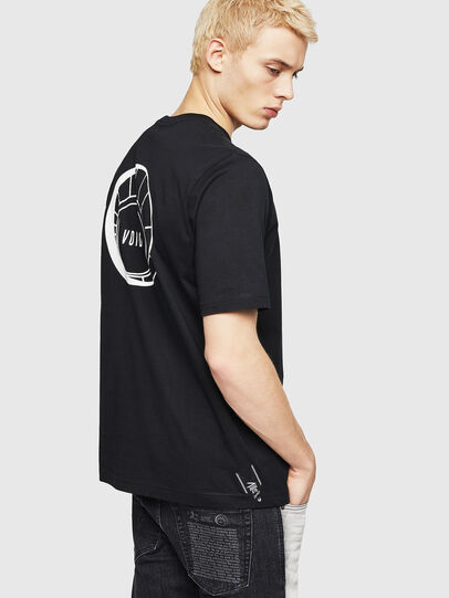 Diesel - T-JUST-A8, Nero - T-Shirts - Image 2
