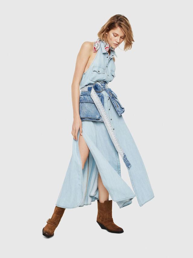 Diesel - DE-POKY, Blu Jeans - Vestiti - Image 3