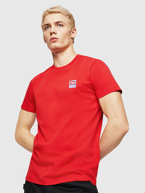 T-DIEGO-DIV, Rosso Fuoco - T-Shirts