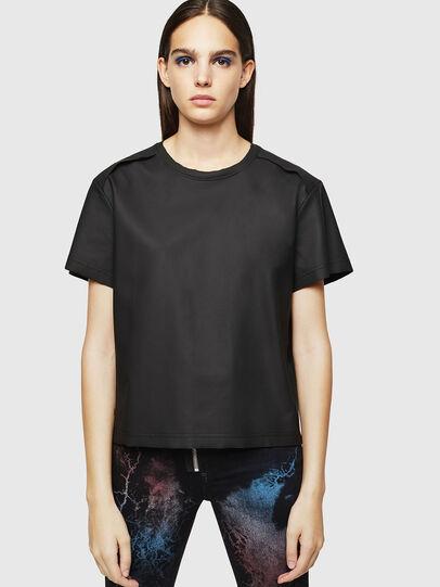 Diesel - T-DARYL, Nero - T-Shirts - Image 1