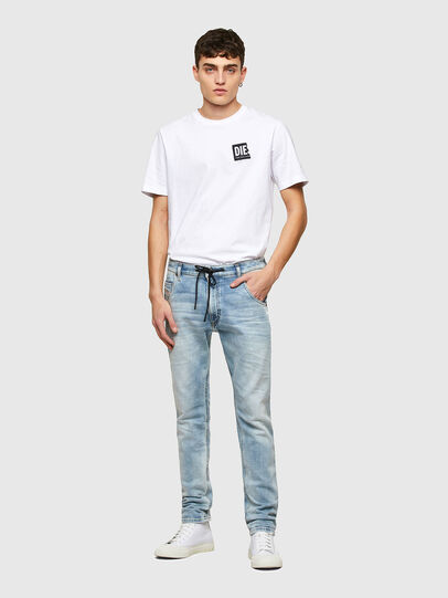 Diesel - Krooley JoggJeans® 069UX, Blu Chiaro - Jeans - Image 5
