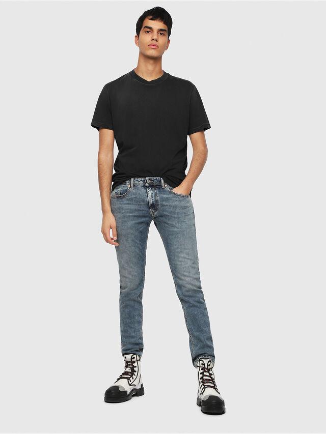 Diesel - Thommer 084UX, Blu medio - Jeans - Image 4