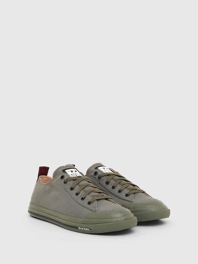 Diesel - S-ASTICO LOW CUT, Grigio scuro - Sneakers - Image 2