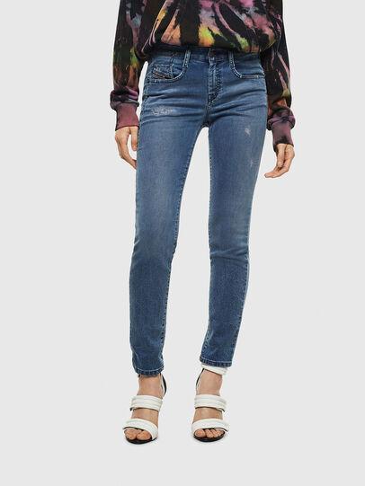 Diesel - D-Ollies JoggJeans 069MC, Blu medio - Jeans - Image 1